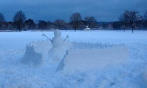 Snow_Fort_In_Sports_Field_0