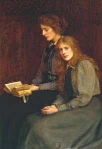 The Sisters by Ralph Peacock (1900)