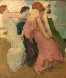 The Dancers by Arthur Mathews