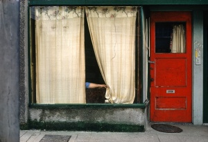 """Curtains"" photogragh by Fred Herzog"