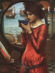 Destiny, by J.W. Waterhouse, 1900