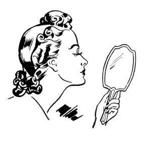 mirror-lady-Image-Graphics-Fairy