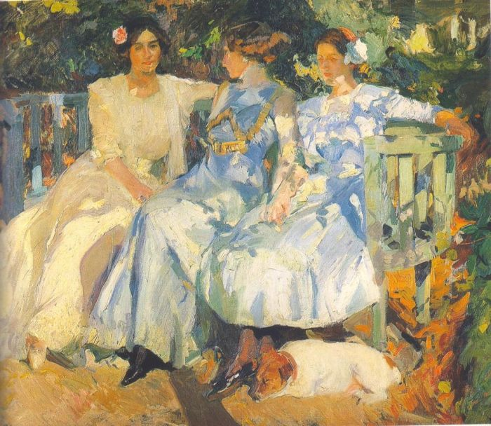 Joaquin_Sorolla_My_Wife_and_Daughters_in_the_Garden (source: Wikipedia)