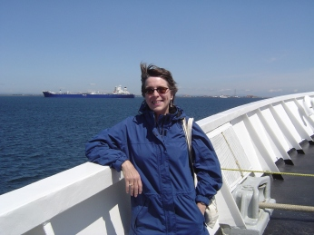 First time in ferry to Vancouver Island 2005