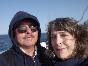2012: Another farewell, happy yet sad--and sunblind and windblown! :)
