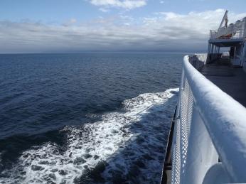 San Juan de Fuca Strait to USA