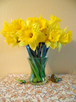 Daffodils from my friend Eileen