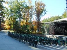 New Upton-Morley Pavilion, outdoor venue