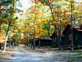 Campers' cabins