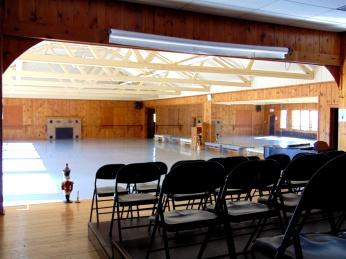 The practice room where I danced.