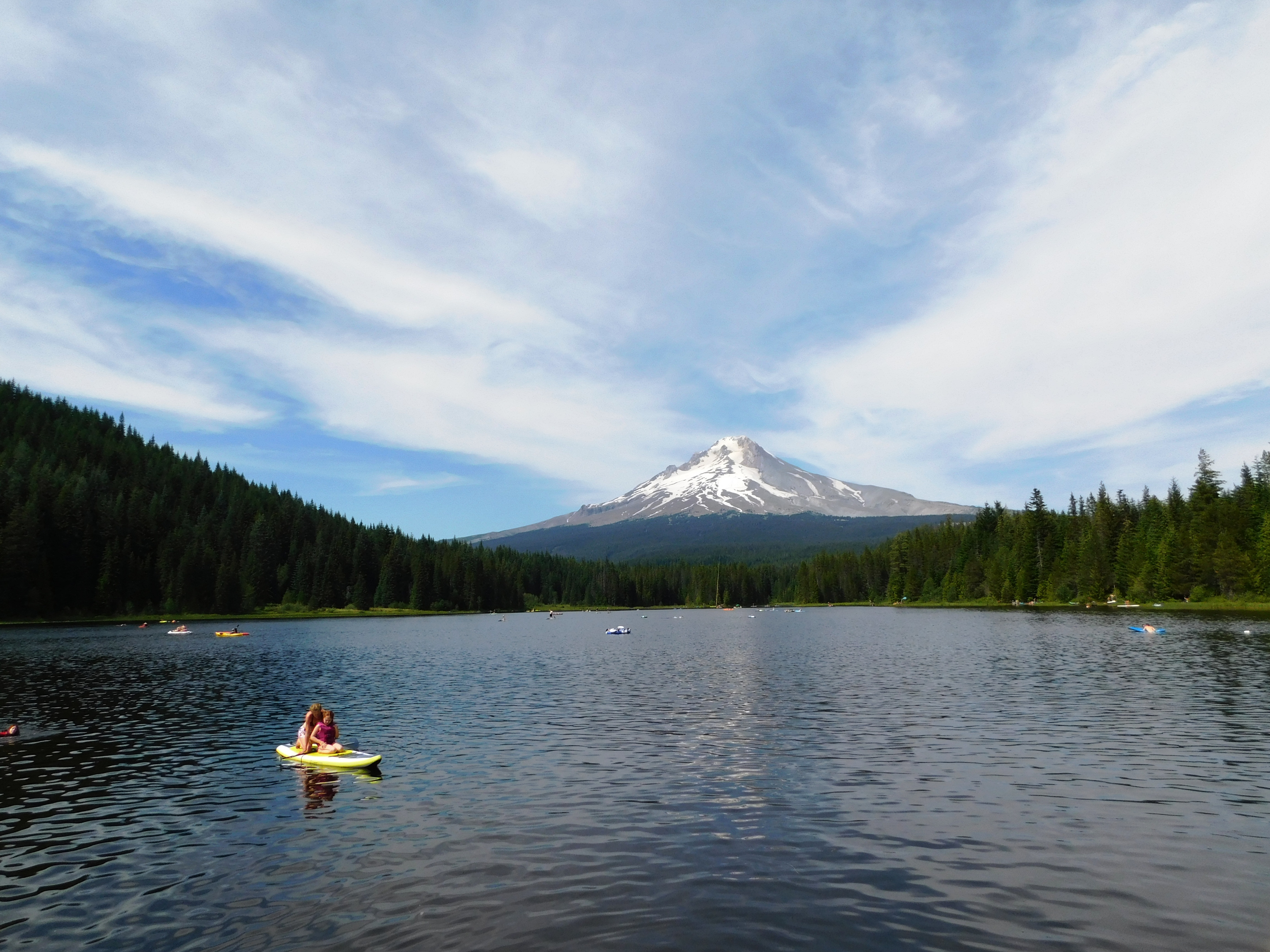 Trillium Lake, walks 042