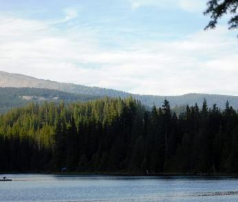 Trillium Lake, walks 253