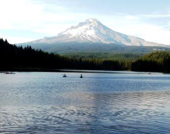 Trillium Lake, walks 256