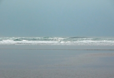 Salmon Creek, Cannon Beach, smoke 084