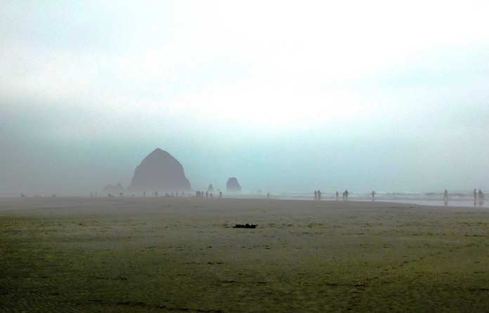 Salmon Creek, Cannon Beach, smoke 094