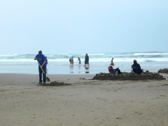 Salmon Creek, Cannon Beach, smoke 106